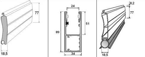Garážová vrata PROFIROL PA77