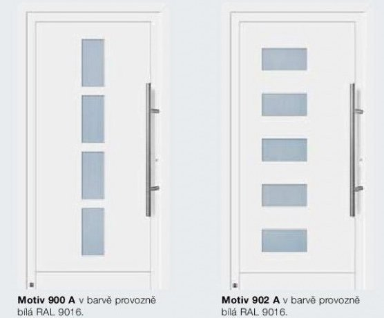 Domovní dveře Comfort_motiv 900A/902A