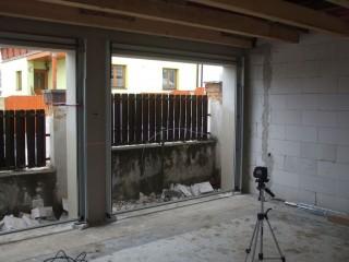 Příprava pro sekční garážová vrata pokračování, JH-vrata Hlinovský