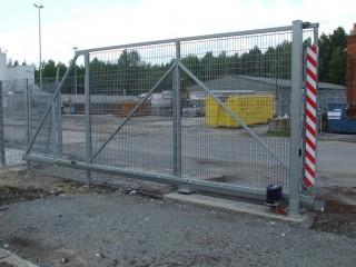 Průmyslová posuvná vrata Plzeň