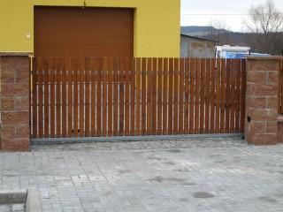 Posuvná vrata Plzeň