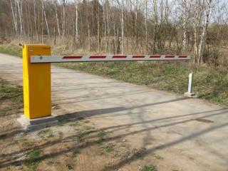 Elektrické závory Plzeň