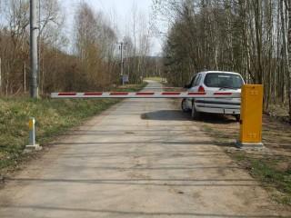 Silniční vjezdové brány Plzeň