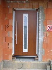 Plastové vchodové dveře Plzeň